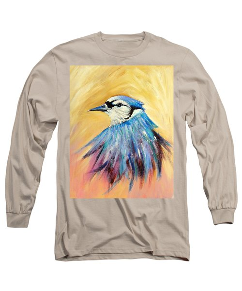 Mr. Blue Long Sleeve T-Shirt