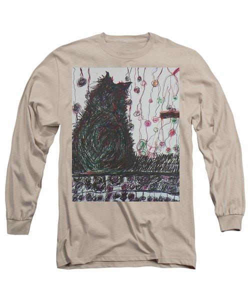 Mr. Cat Long Sleeve T-Shirt