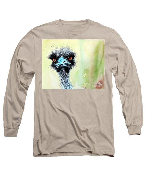 Mr. Grumpy Long Sleeve T-Shirt by Tom Riggs