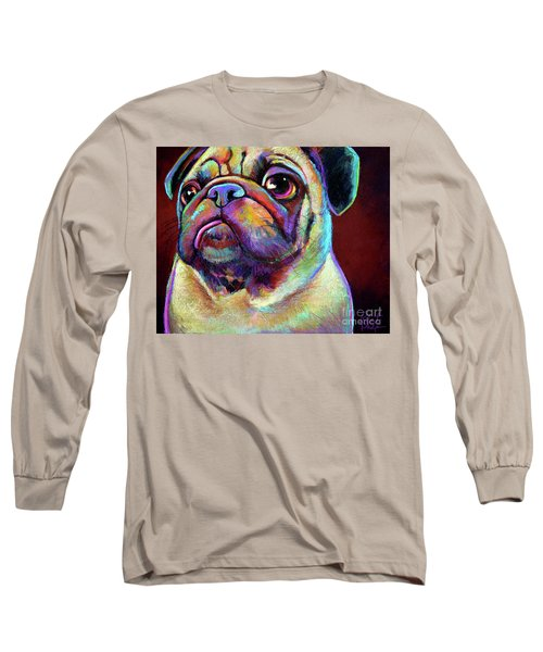 Mr. Pugnacious  Long Sleeve T-Shirt