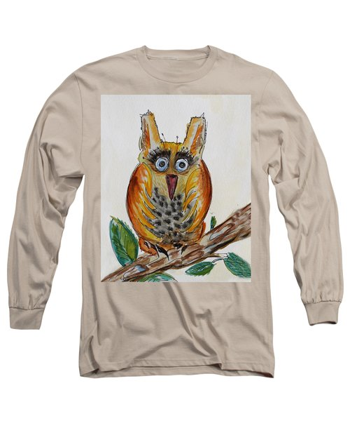 Mr.orange Owl Long Sleeve T-Shirt