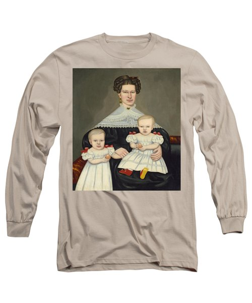 Mrs Paul Smith Palmer And Her Twins Long Sleeve T-Shirt