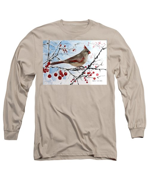 Mrs Red Bird The Visit Long Sleeve T-Shirt