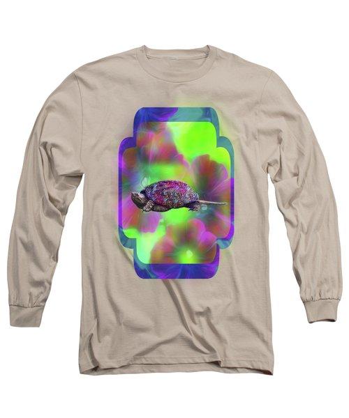 Ms Curlie Long Sleeve T-Shirt by Linda Troski