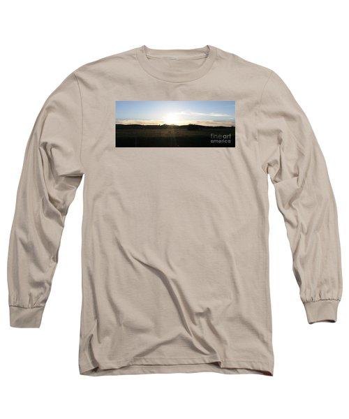 Mt. Diablo Sunset Long Sleeve T-Shirt