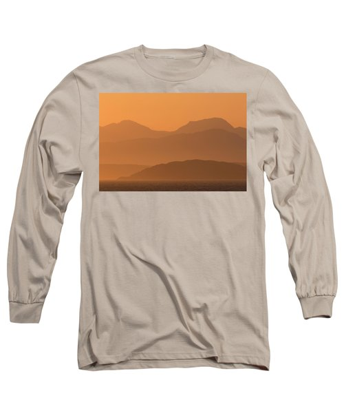 Long Sleeve T-Shirt featuring the photograph Mull Sunrise by Karen Van Der Zijden
