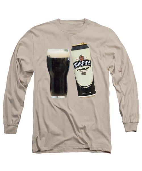 Murphys Draught Long Sleeve T-Shirt by Ericamaxine Price