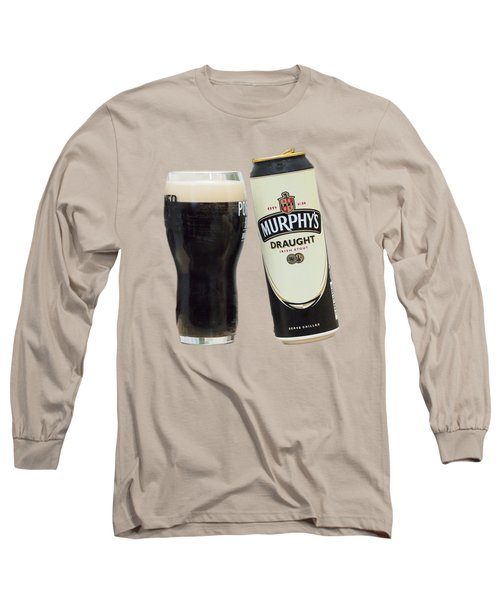 Long Sleeve T-Shirt featuring the photograph Murphys Draught by Ericamaxine Price