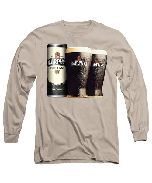 Murphys Irish Stout 2 Long Sleeve T-Shirt by Ericamaxine Price