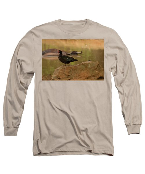 Muscovy Duck Long Sleeve T-Shirt