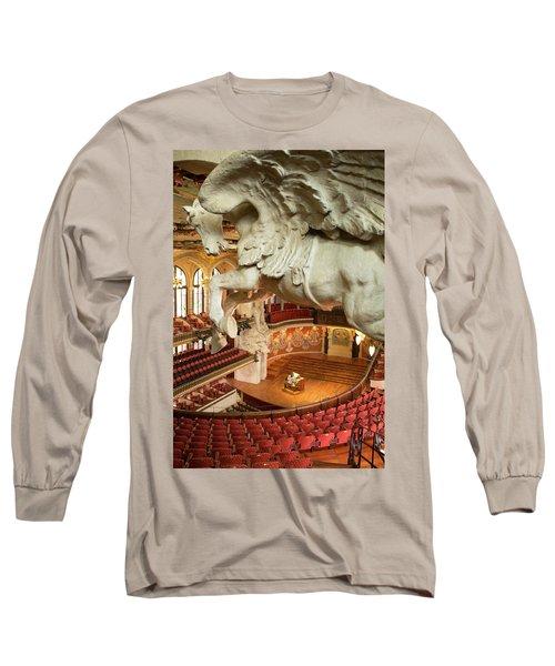 Palau De La Musica Catalana, Barcelona Long Sleeve T-Shirt