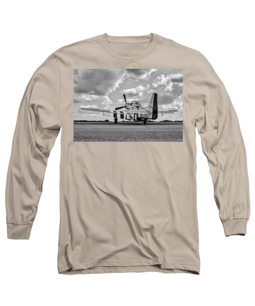 Mustang On The Ramp Long Sleeve T-Shirt