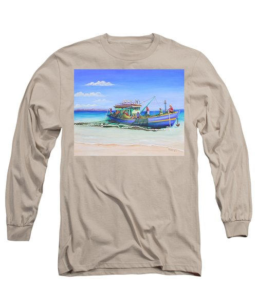 Mv Alice Mary Long Sleeve T-Shirt by Patricia Piffath
