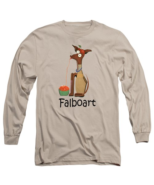 My Applehead Chiwawa Long Sleeve T-Shirt by Anthony Falbo