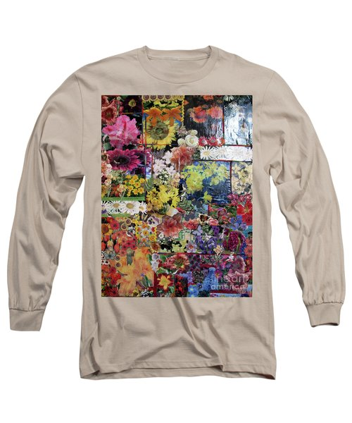My Garden Long Sleeve T-Shirt by Sandy McIntire