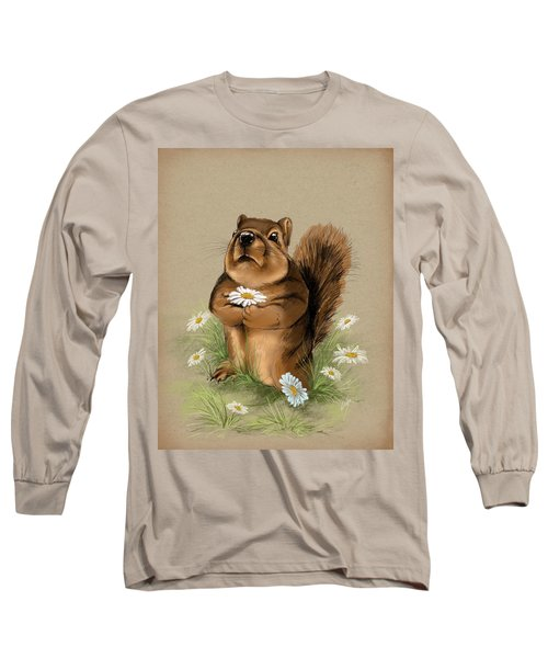 Long Sleeve T-Shirt featuring the painting My Gift For You by Veronica Minozzi