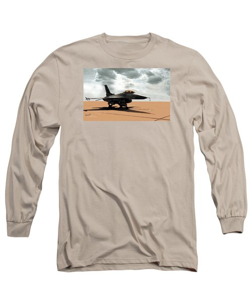 My Jet Long Sleeve T-Shirt by Walter Chamberlain