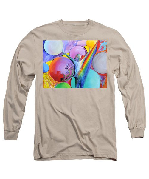 My Name Is Love. Long Sleeve T-Shirt by Jodie Marie Anne Richardson Traugott          aka jm-ART