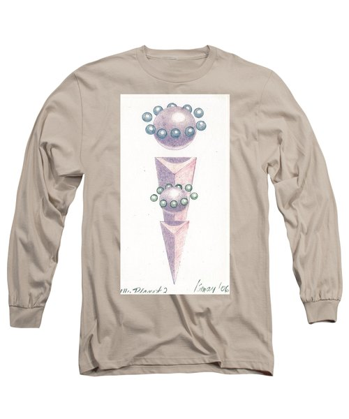 My Planet X's 2 Long Sleeve T-Shirt by Rod Ismay