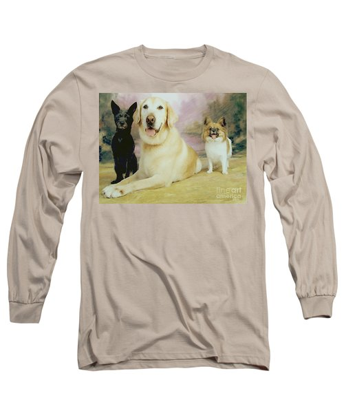 My Son's Three Dogs Long Sleeve T-Shirt