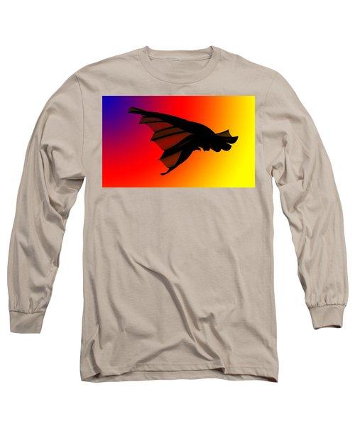 Mystery In Flight Long Sleeve T-Shirt by Allen Beilschmidt