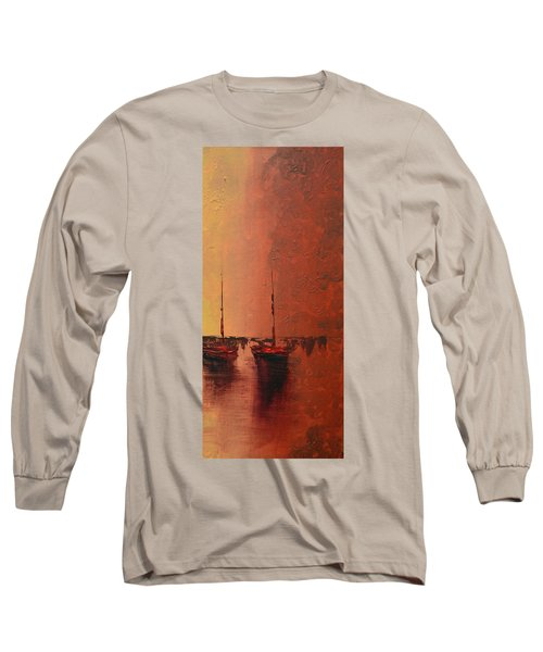 Mystic Bay Triptych 3 Of 3 Long Sleeve T-Shirt
