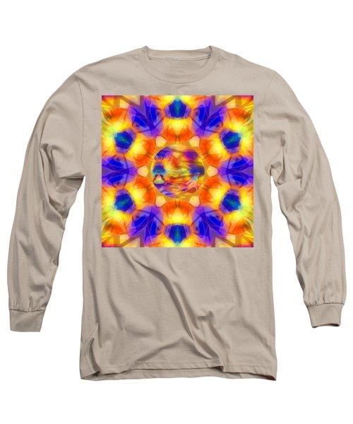 Long Sleeve T-Shirt featuring the digital art Mystic Universe 12 Kk2 by Derek Gedney