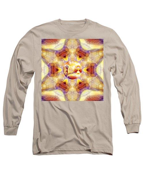 Long Sleeve T-Shirt featuring the digital art Mystic Universe 14 Kk2 by Derek Gedney