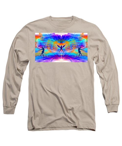 Long Sleeve T-Shirt featuring the digital art Mystic Universe 15 by Derek Gedney