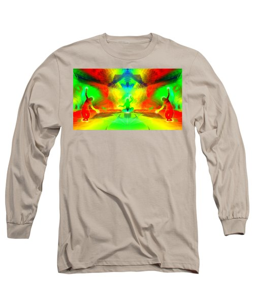 Long Sleeve T-Shirt featuring the digital art Mystic Universe 9 by Derek Gedney