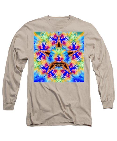 Long Sleeve T-Shirt featuring the digital art Mystic Universe Kk 13 by Derek Gedney