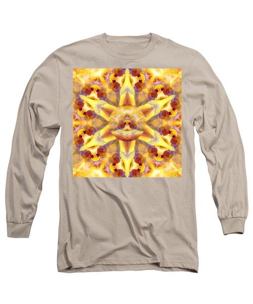 Long Sleeve T-Shirt featuring the digital art Mystic Universe Kk 14 by Derek Gedney
