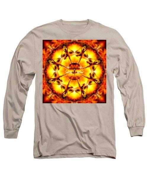 Long Sleeve T-Shirt featuring the digital art Mystic Universe Kk 7 by Derek Gedney
