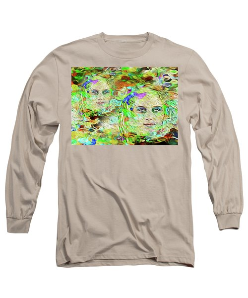 Mystical Eyes Long Sleeve T-Shirt