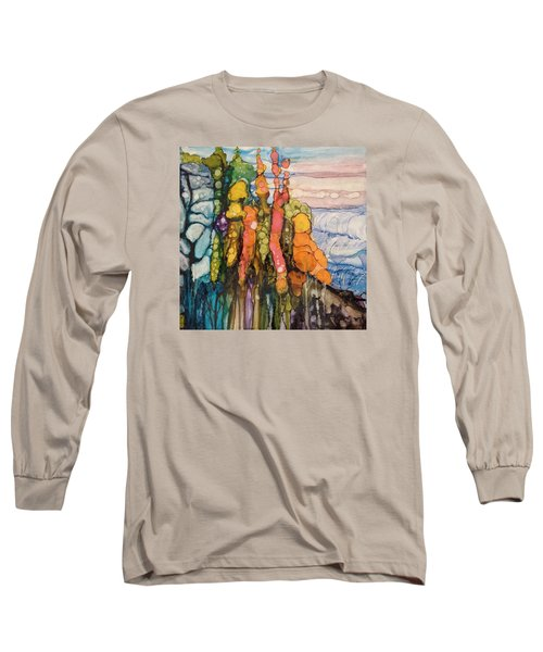 Mystical Garden Long Sleeve T-Shirt by Suzanne Canner