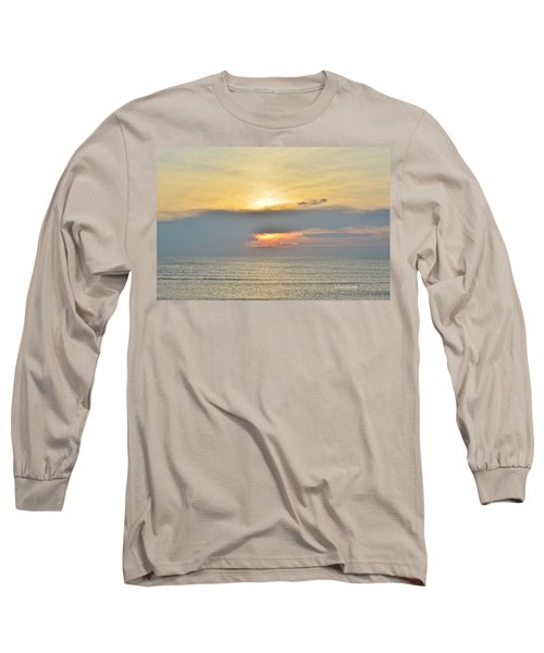 Nags Head Sunrise 7/24/16 Long Sleeve T-Shirt