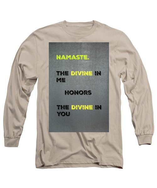 Namaste #4 Long Sleeve T-Shirt