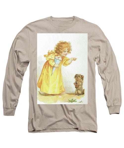 Nancy And Spot Long Sleeve T-Shirt