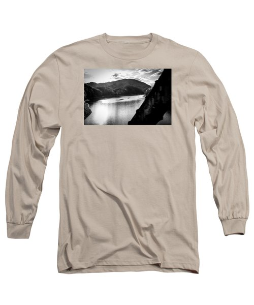 Long Sleeve T-Shirt featuring the photograph Nantahala River As Seen From The Great Smokey Mountain Railroad by Kelly Hazel