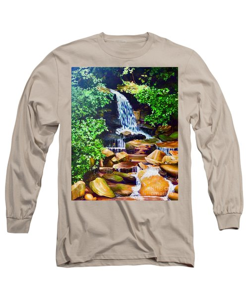 Nantahala Waterfall Long Sleeve T-Shirt