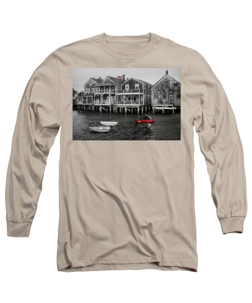 Nantucket In Bw Series 6139 Long Sleeve T-Shirt