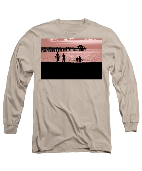 Naples Florida Sunset Long Sleeve T-Shirt