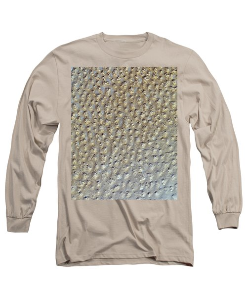 Nasa Image- Star Dunes, Algeria-2 Long Sleeve T-Shirt