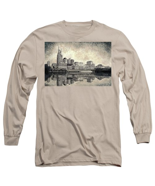 Nashville Skyline II Long Sleeve T-Shirt