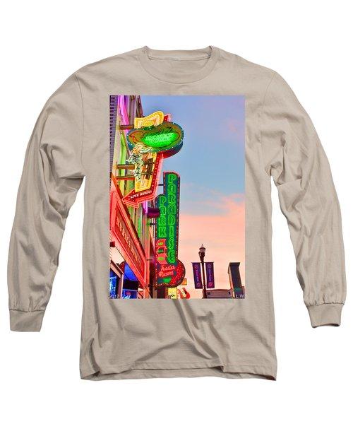 Nashville's Neon Signs Long Sleeve T-Shirt