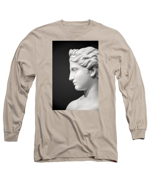 National Portrait Gallery Statue Profile Long Sleeve T-Shirt