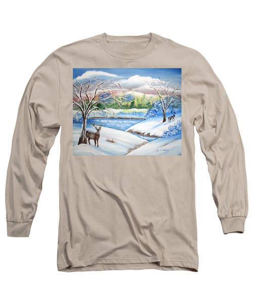 Natural Beauty Long Sleeve T-Shirt by Luis F Rodriguez