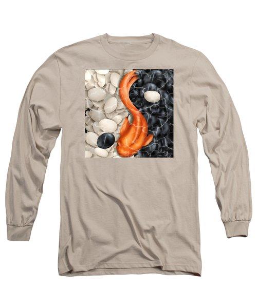 Natural Equilibrium Yin Yang Long Sleeve T-Shirt