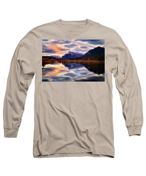 Natural Mirror Long Sleeve T-Shirt by Nicki Frates