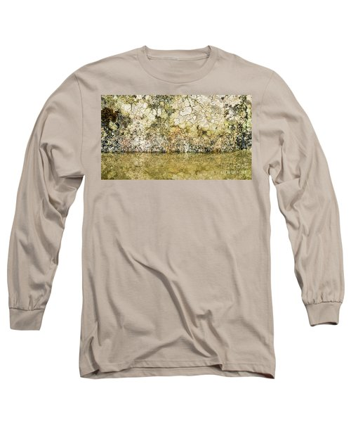 Long Sleeve T-Shirt featuring the photograph Natural Stone Background by Torbjorn Swenelius